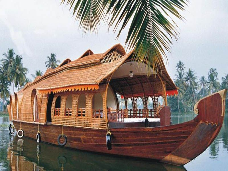 Kollam To Kumarakom Houseboat