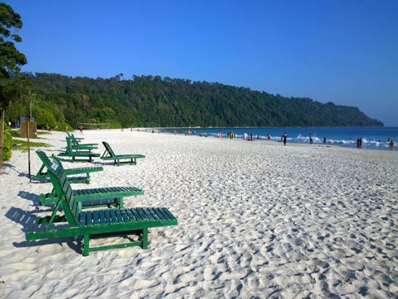 Havelock Island In Andaman And Nicobar Islands