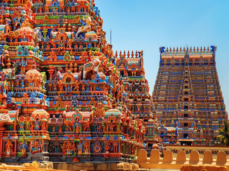 Srirangam Temple Pictures In Trichy