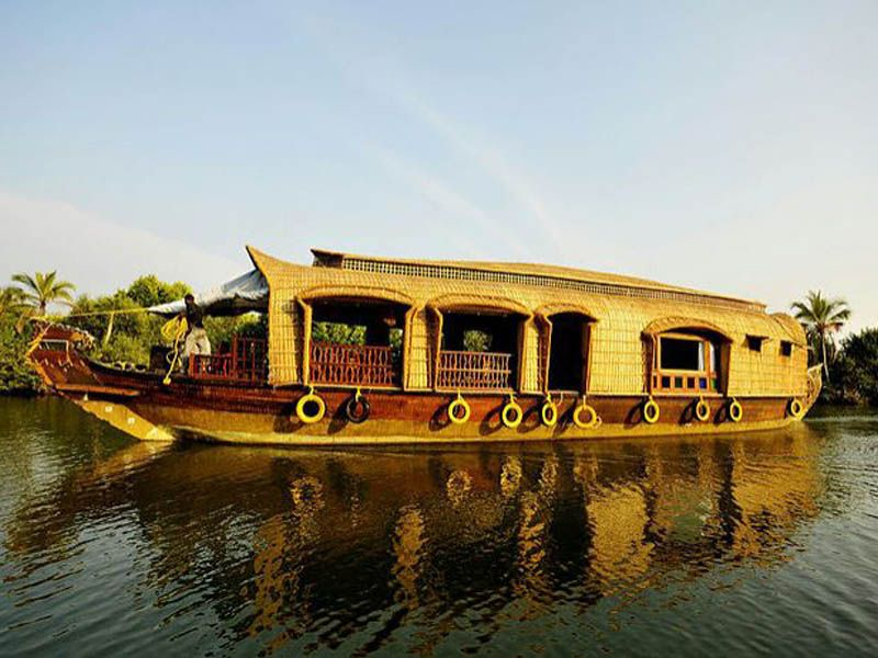 Kollam To Alleppey Houseboat