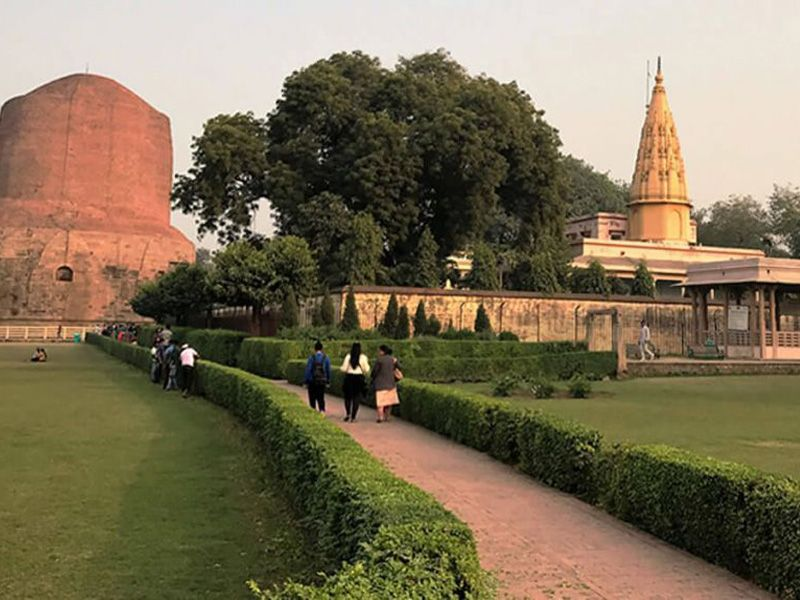 Varanasi To Sarnath Golden Triangle Tour Trip
