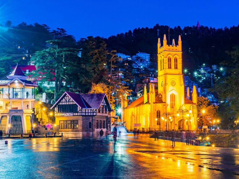 Shimla- Kullu - Manali Tour Package From Delhi