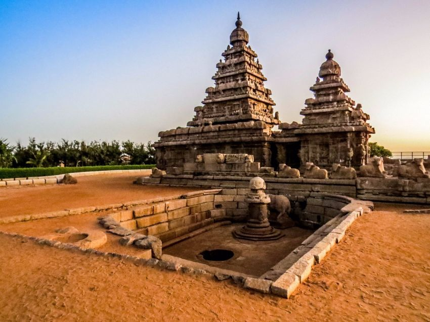 Shore Temple In Mahabalipuram