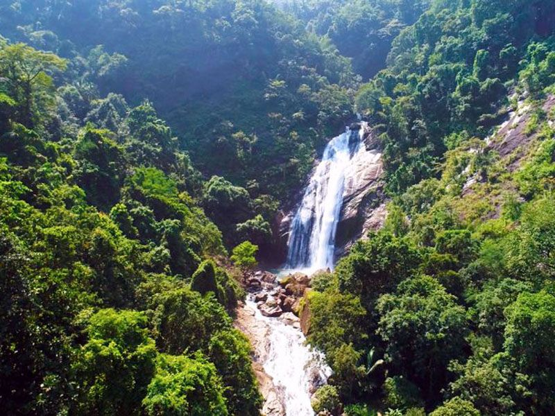 Waterfalls Near Vagamon