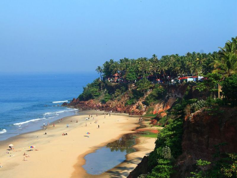Kappil Beach In Varkala