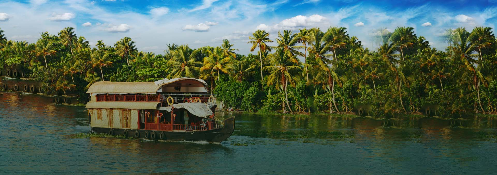 Image result for Living The Royal Life On A Spice Routes Luxury Houseboat in Kerala, India