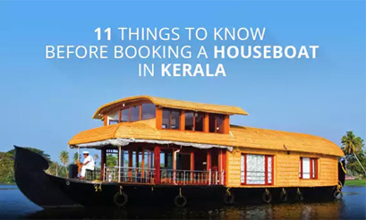 Kerala Houseboat Booking Packages In India