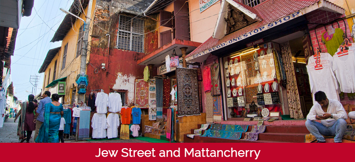 jew street and mattancherry
