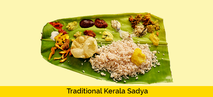 traditional kerala sadya