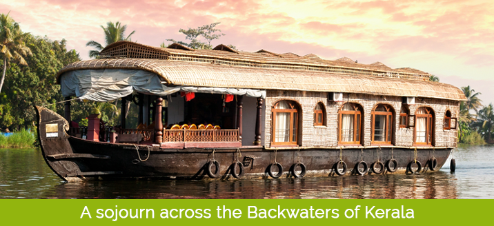 sojourn journey across the backwaters of kerala