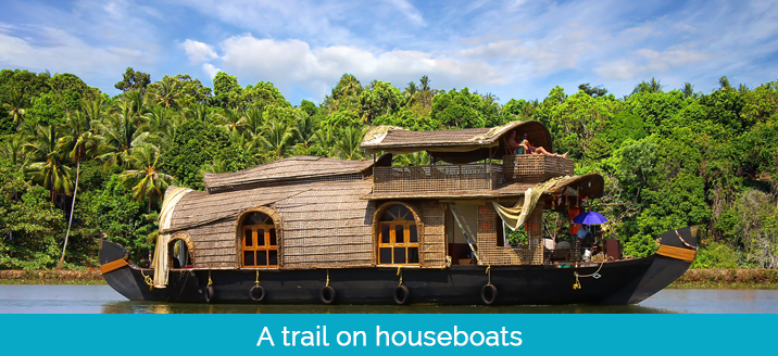 Trail on houseboats