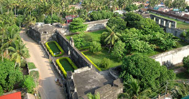 Anchuthengu or Anjengo fort