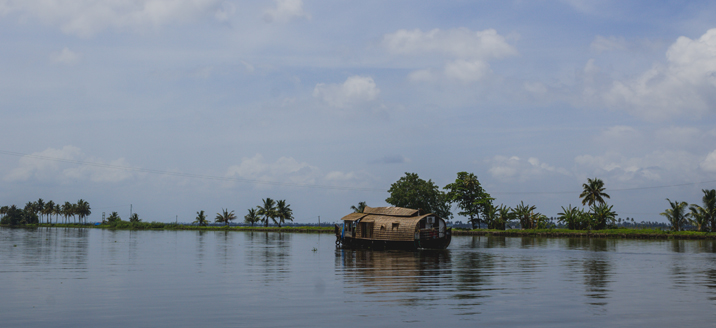 Alleppey or Alappuzha Backwater Route
