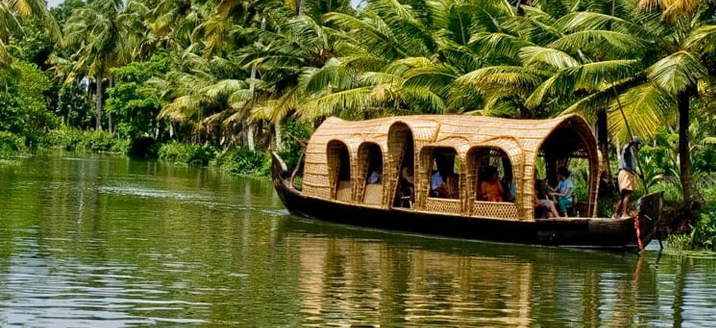 Alleppey to Thottappalley Backwater Route