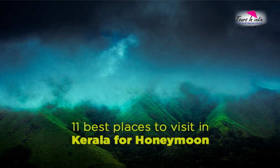 11 best places to visit in kerala for honeymoon infographics for Best places to go on your honeymoon