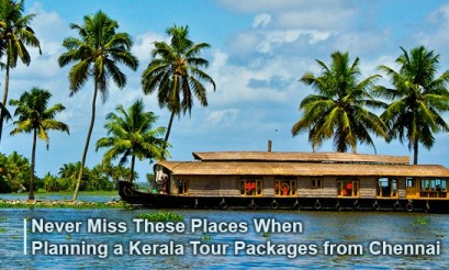 Kerala Tour Packages from Chennai